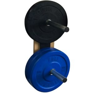DOUBLE Vertical Weight Plate Rack