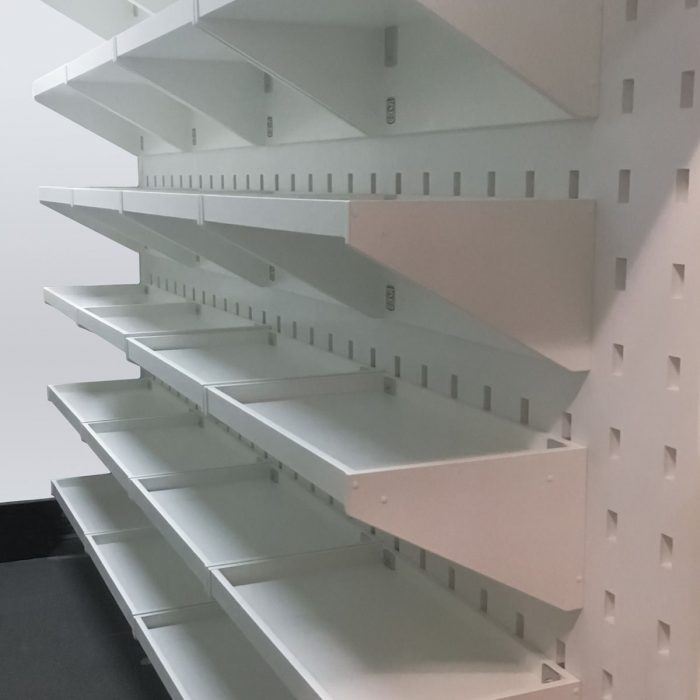 Storage Shelf White Mel – 600mm wide