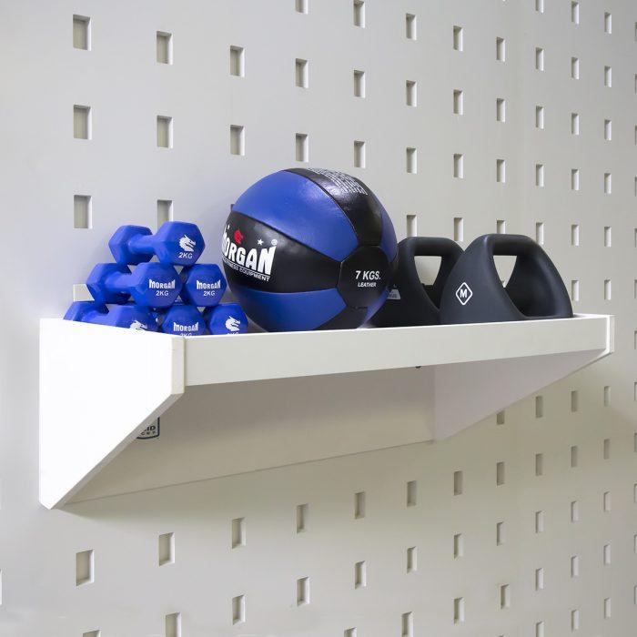 Storage Shelf White Mel – 800mm wide