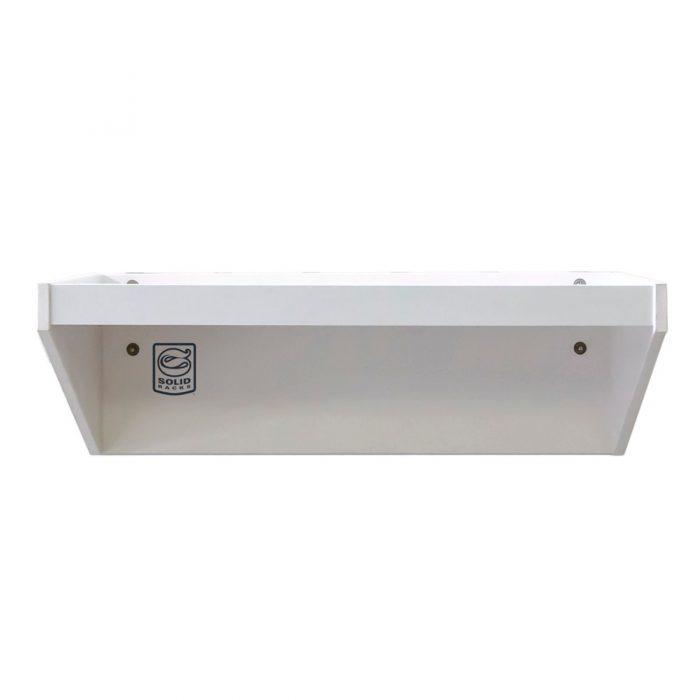 800 m white storage shelf