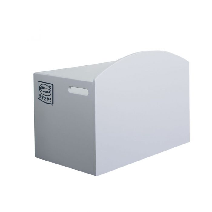 LARGE White Melamine Box